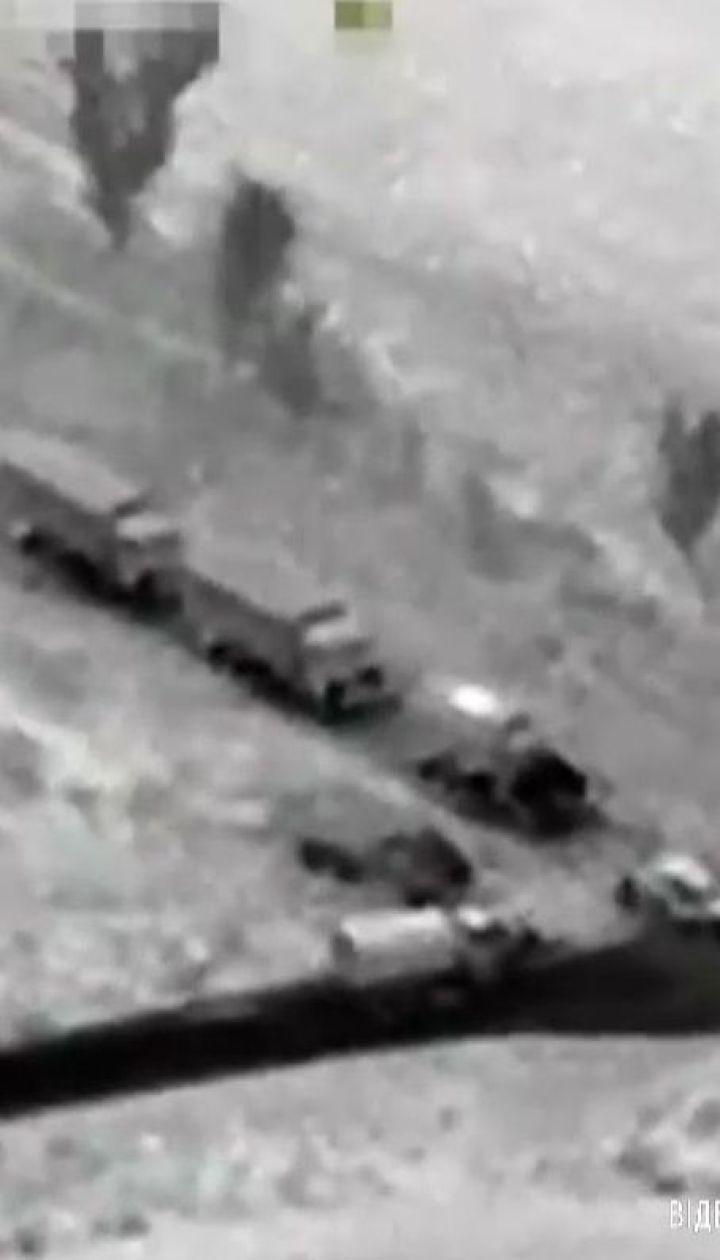 ОБСЄ зафіксувала незаконний в'їзд колони вантажівок з РФ на Донбас