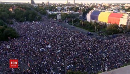 Масовий антикорупційний протест у Румунії: постраждали 440 осіб