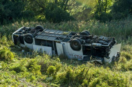 В Угорщині розбився мікроавтобус із українцями: одна людина в комі