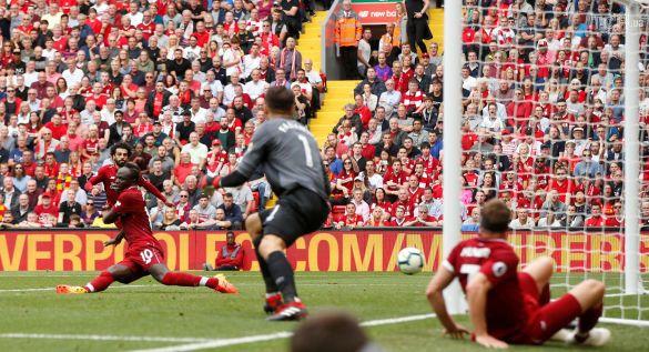 Ліверпуль забиває гол