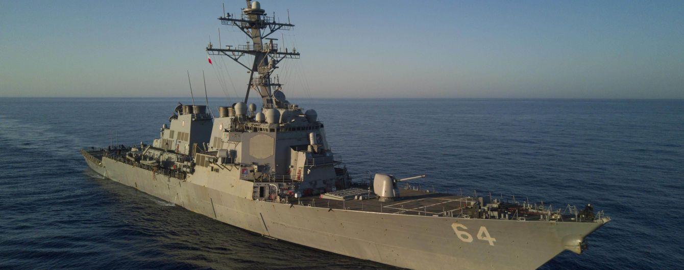 Російські кораблі розпочали стежити за американськими есмінцями в Балтійському морі