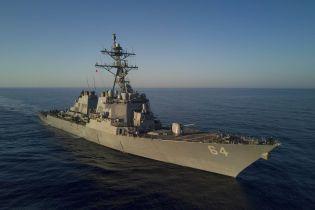 Российские корабли начали следить за американскими эсминцами в Балтийском море