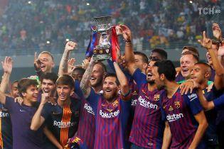 """""""Барселона"""" виграла Суперкубок Іспанії, Мессі став найтитулованішим гравцем клубу"""
