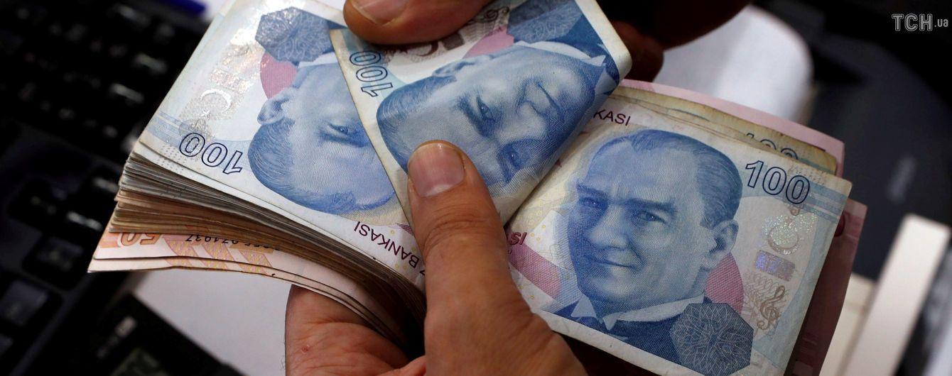 Інфляція в Туреччині досягла 15-річного максимуму