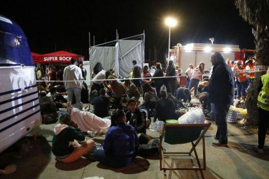 В Испании во время концерта обрушилась конструкция, есть пострадавшие