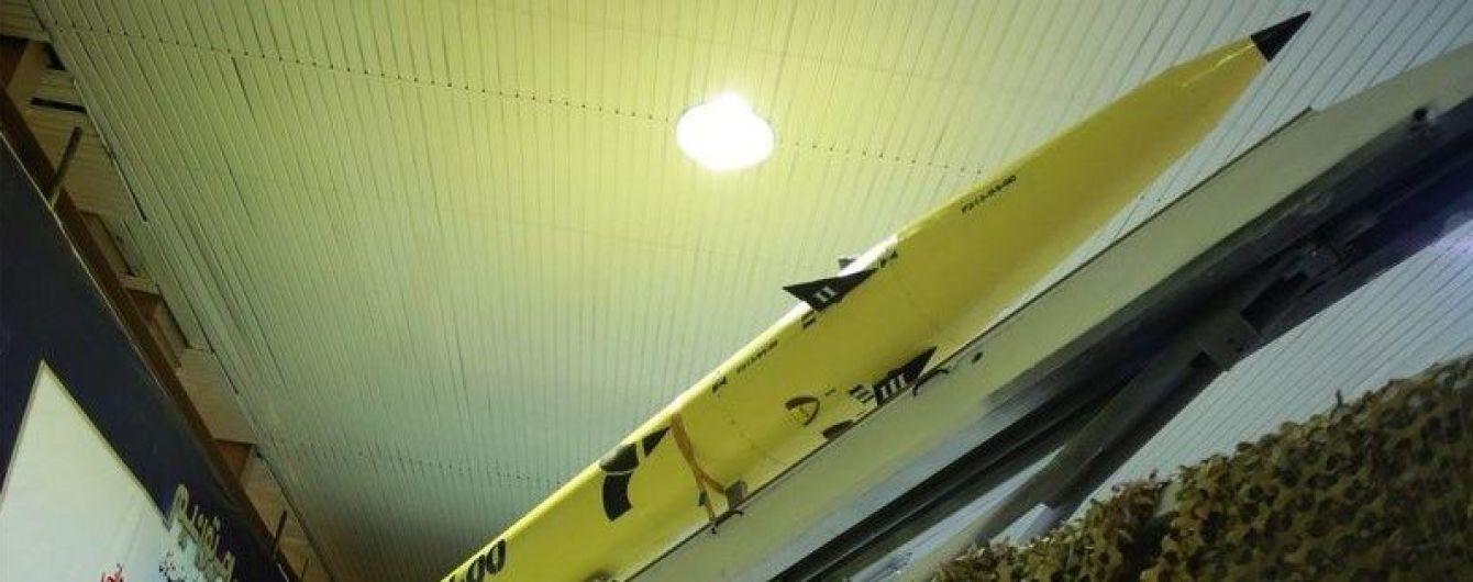 Іран презентував нову балістичну ракету
