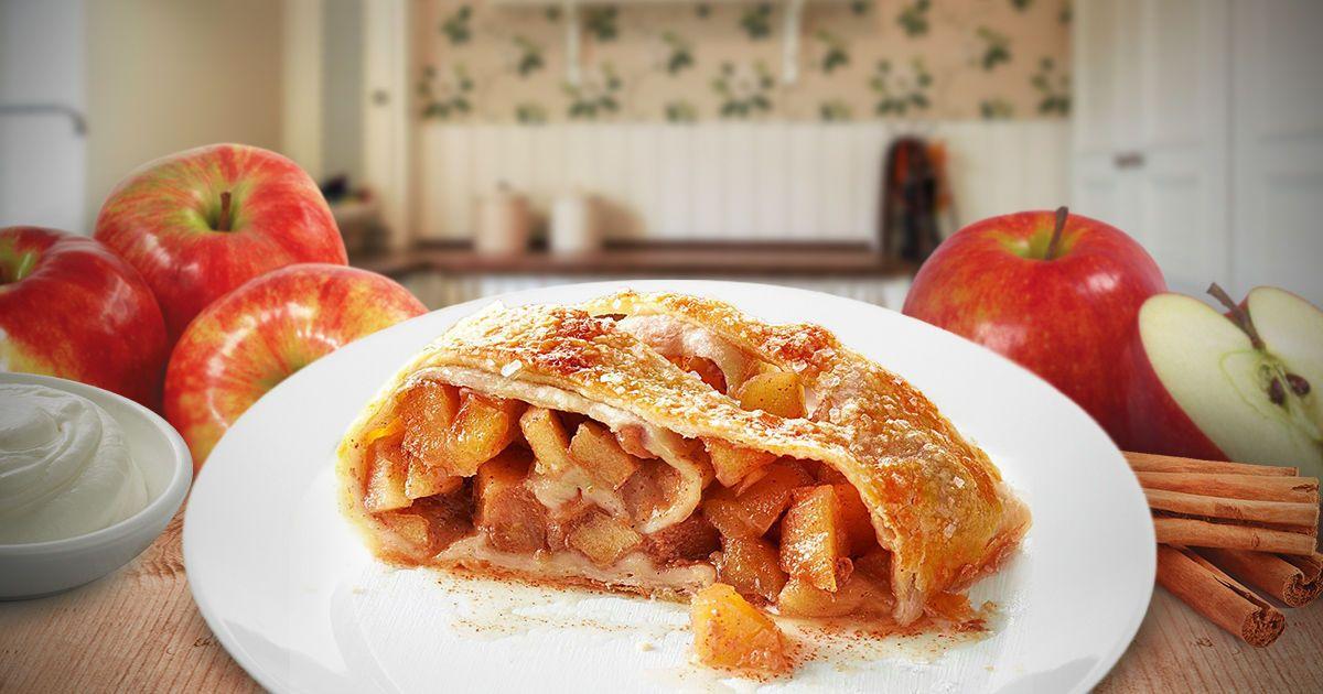 Три секрети ідеального австрійського яблучного штруделя