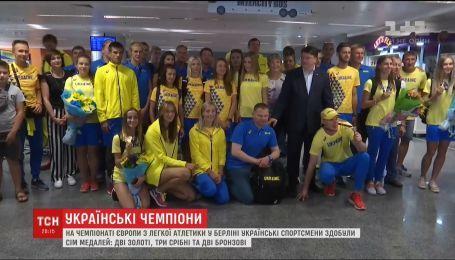 Украинские легкоатлеты завоевали семь медалей на чемпионате Европы