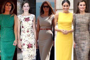 Як носити сукню-футляр