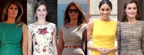 Как носить платье-футляр