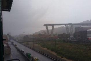 В Италии рухнул автомобильный мост - жертвы оказались в ловушке