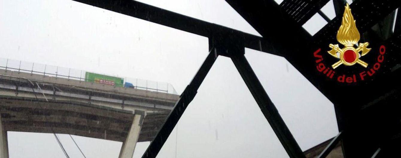 Появилось первое видео смертельного обрушения моста в Италии