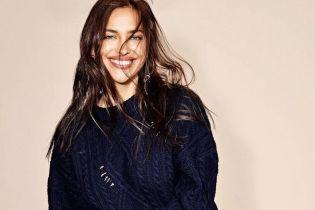 У шкіряних міні та з усмішкою: Ірина Шейк на обкладинці глянцю