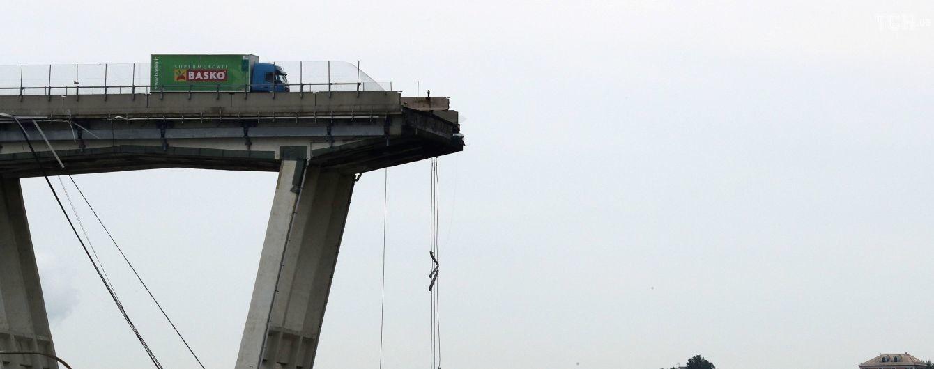 В італійській Генуї обвалився автомобільний міст: усі деталі катастрофи