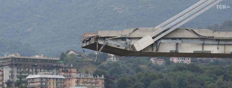 Уцелевшие части моста в Генуе могут упасть в любой момент