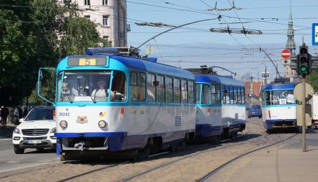 Во Львове предлагают создать кафе в раритетных чешских трамваях