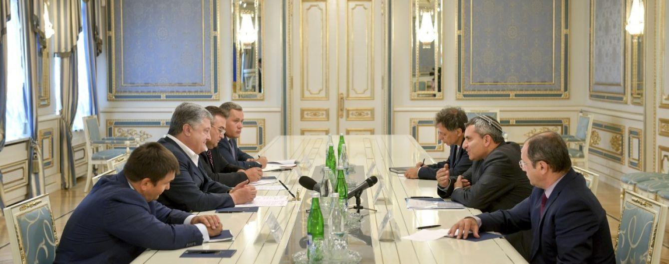 Порошенко призвал Израиль чаще впускать украинцев