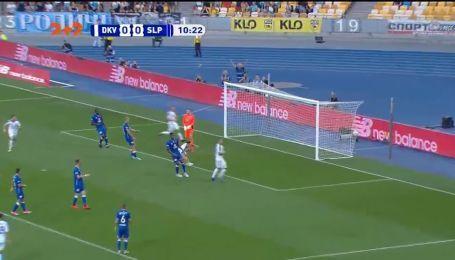 Динамо – Славія – 1:0. Відео голу Вербича
