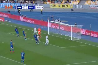 Динамо – Славия – 1:0. Видео гола Вербича