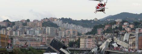 ТСН попала к месту падения моста в Генуе: данные о жертвах у спасателей и в Интернете не совпадают