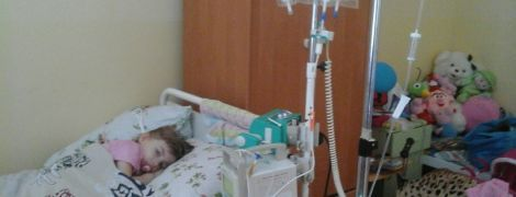 Дороге лікування може врятувати життя 3-річної Улянки