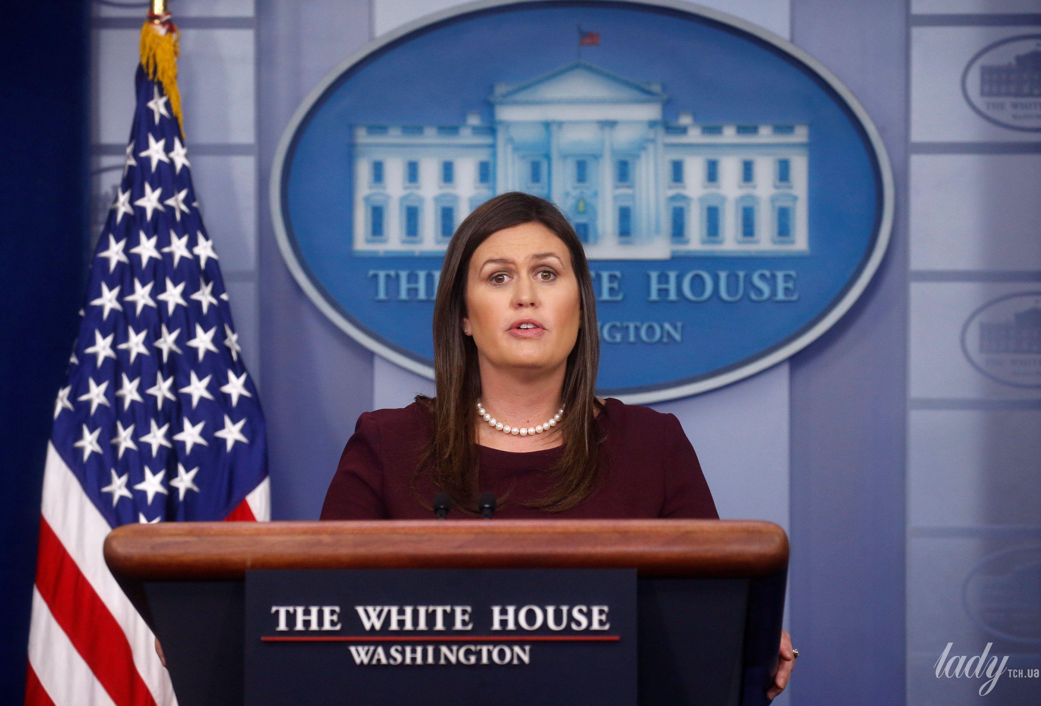 Пресс-секретарь Белого дома_3