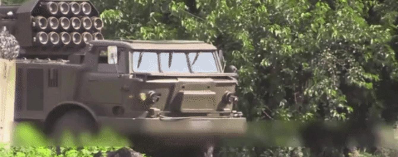 """На Донбасі перевірили готовність артилерії """"Ураган"""""""