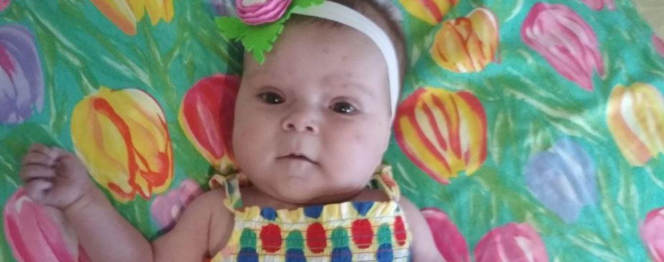 8-месячная Варвара живет несмотря на тяжелый порок сердца, ребенку нужен ряд операций