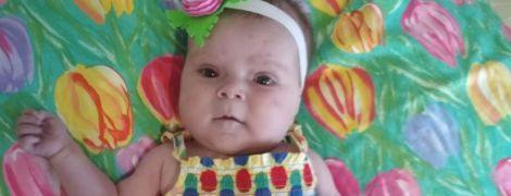8-місячна Варвара живе попри важку ваду серця, дитині потрібна низка операцій