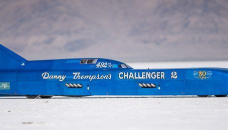 В Бонневилле установлен мировой рекорд скорости на 50-летнем хот-роде