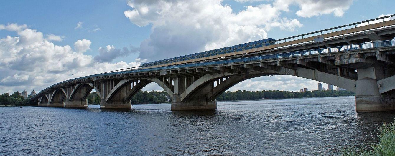 Мост Метро в Киеве будут ремонтировать почти два года