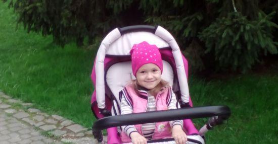 Посилена реабілітація Катеринки допоможе їй зробити перші самостійні кроки