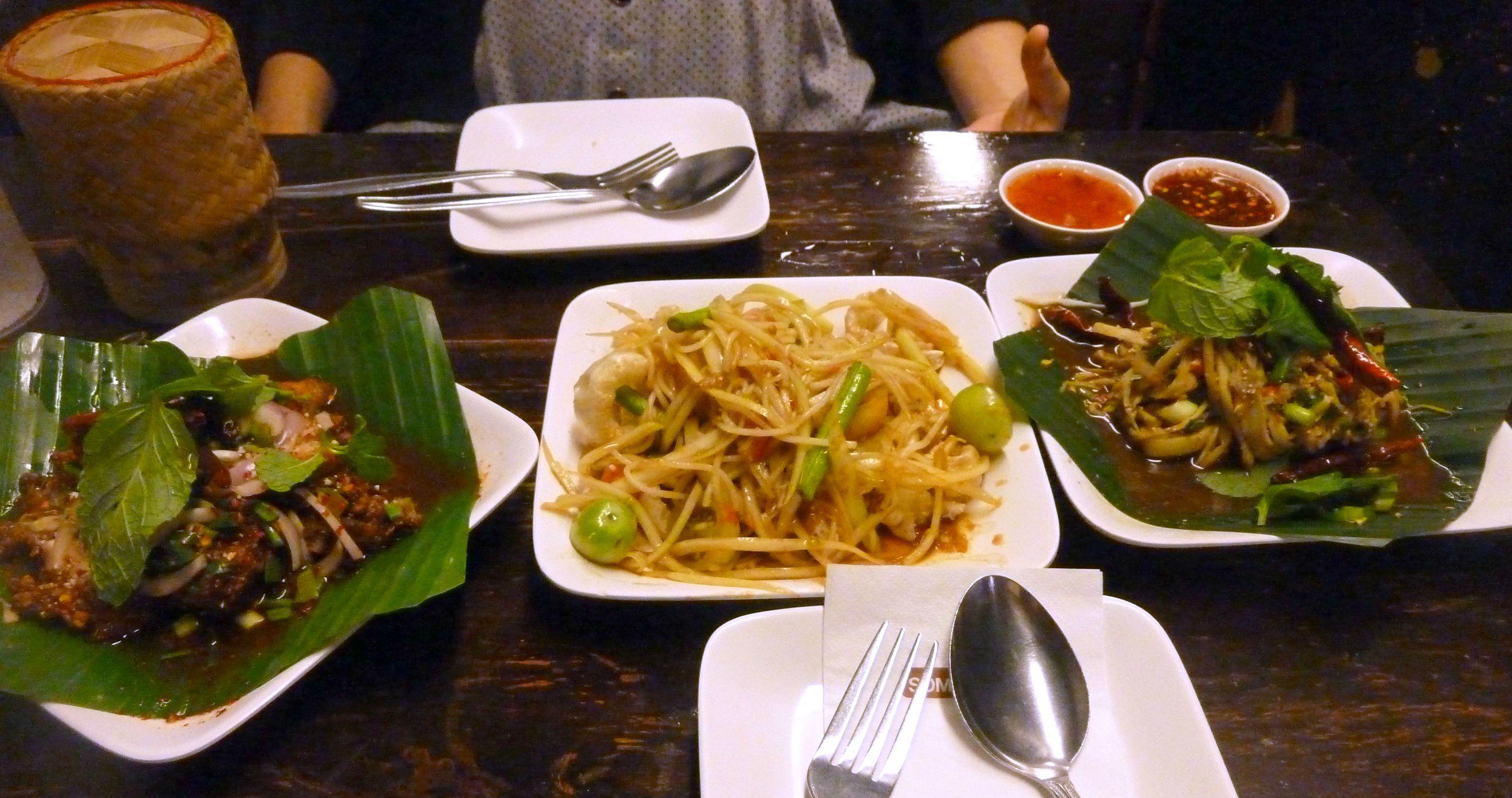 Тайський салат, салати
