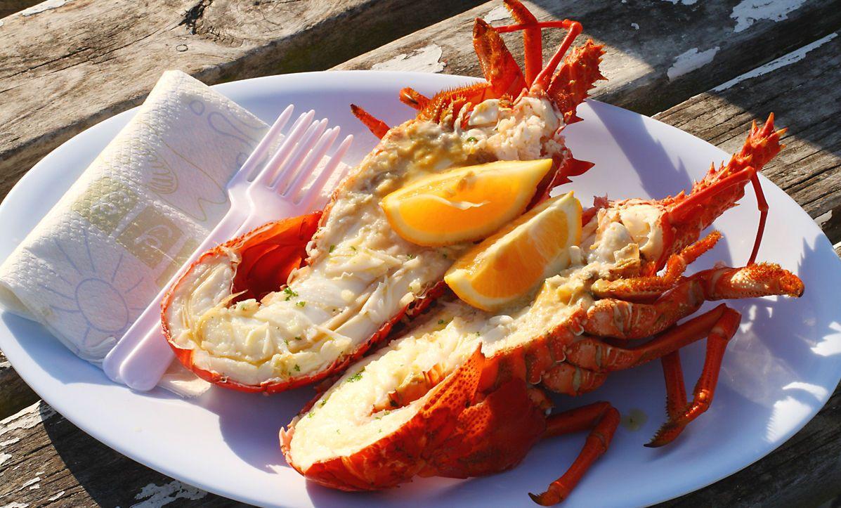 Варений рак, морепродукти