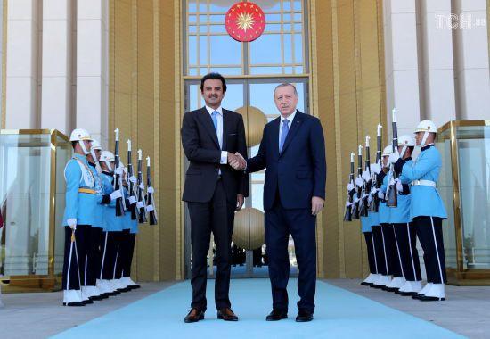 Порятунок від кризи. Катар вклав в економіку Туреччини 15 мільярдів доларів прямих інвестицій