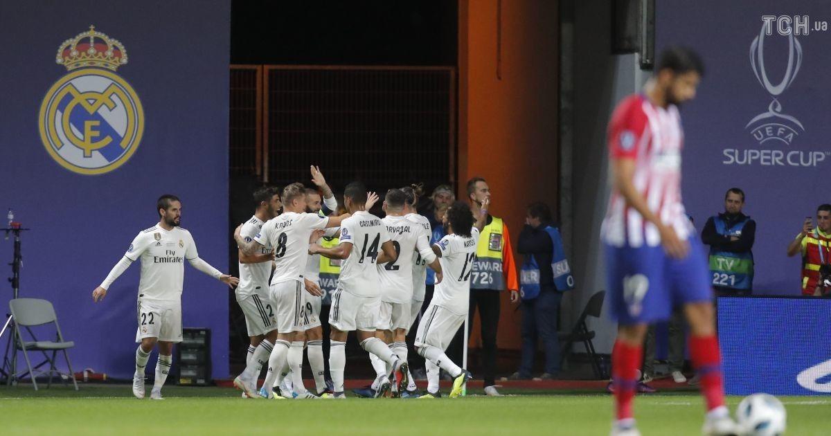 Суперкубок УЄФА. Реал - Атлетіко - 2:4 @ Reuters