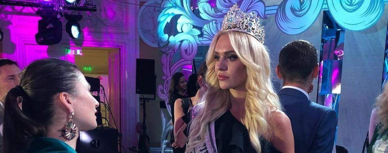 """""""Міс Україна Всесвіт"""" отримала корону з білого золота ціною 80 тисяч доларів"""
