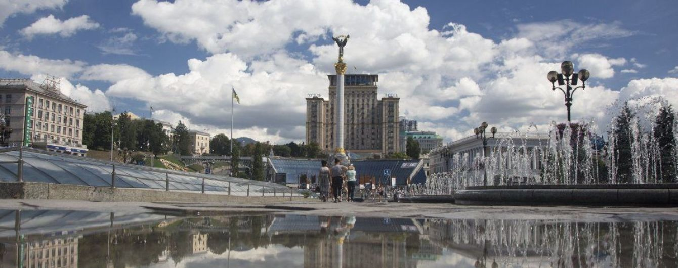В Киеве на Майдане Независимости ищут взрывчатку