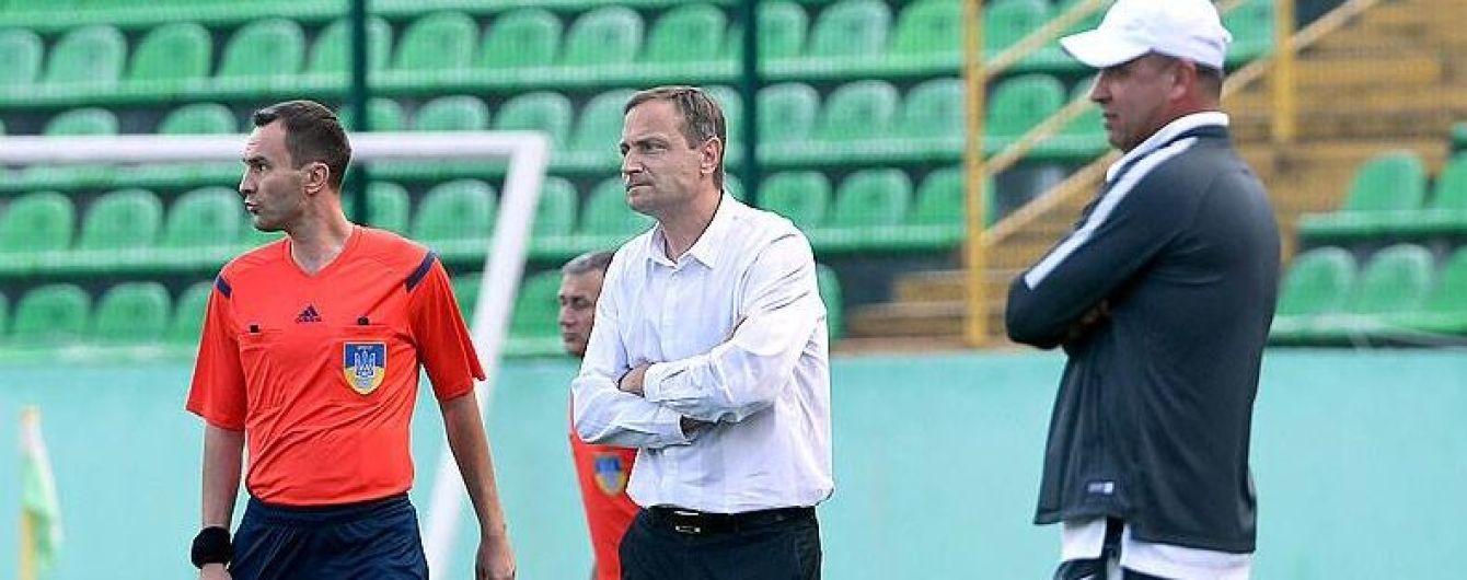 """""""Карпати"""" звільнили головного тренера і пропонують йому іншу посаду"""