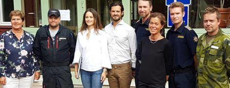 У джинсах, сорочці і кросівках: повсякденний образ принцеси Софії