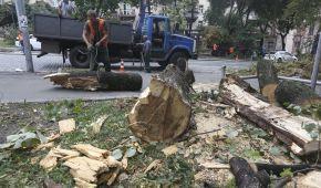 Ліквідація наслідків негоди у Києві: посадовці пояснили, чому затопило Хрещатик