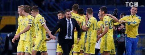 Україна залишилася на 35-му місці у рейтингу найкращих збірних світу