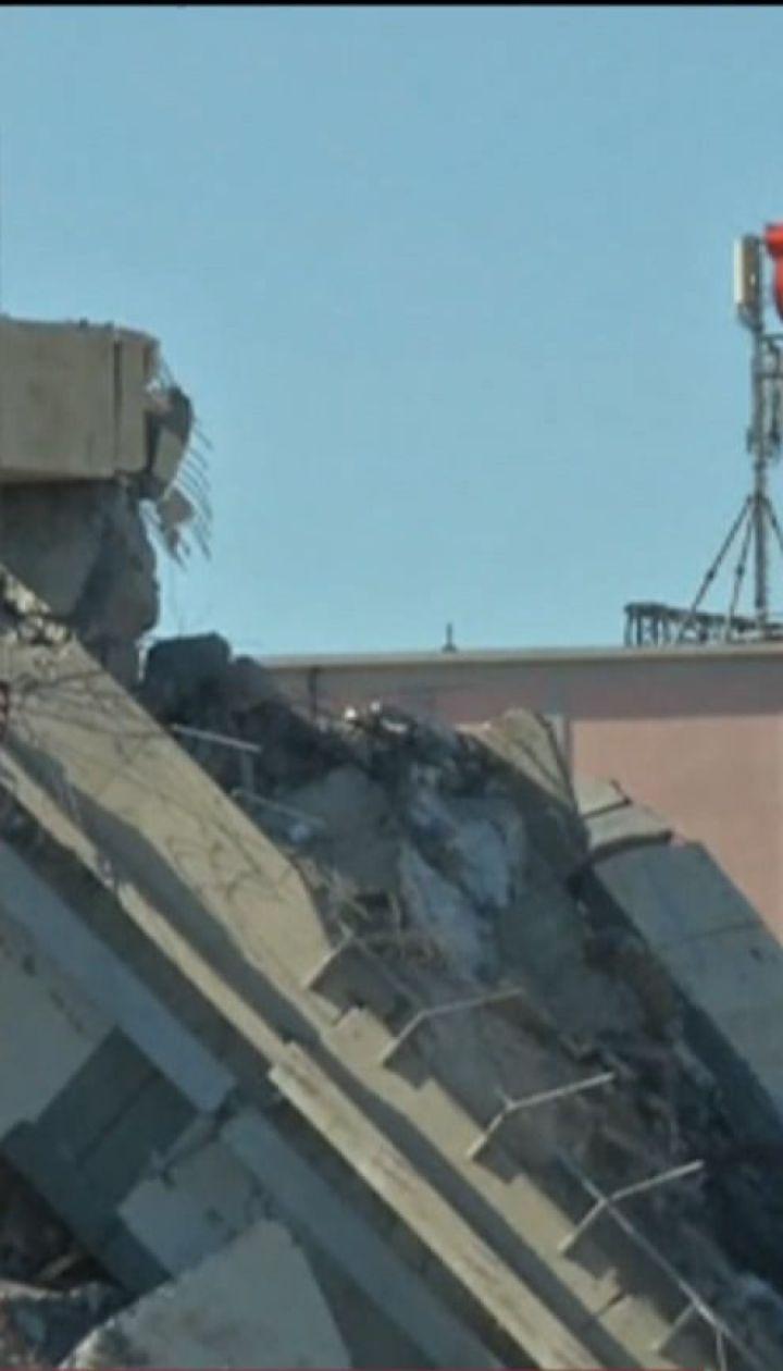 До 20 человек могут оставаться под завалами моста в итальянской Генуе