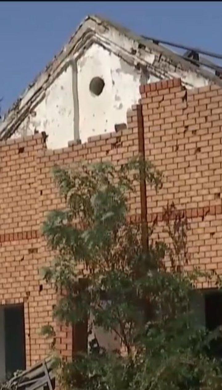 Несмотря на освобождение Широкино от боевиков, местные до сих пор не могут вернуться в свои дома