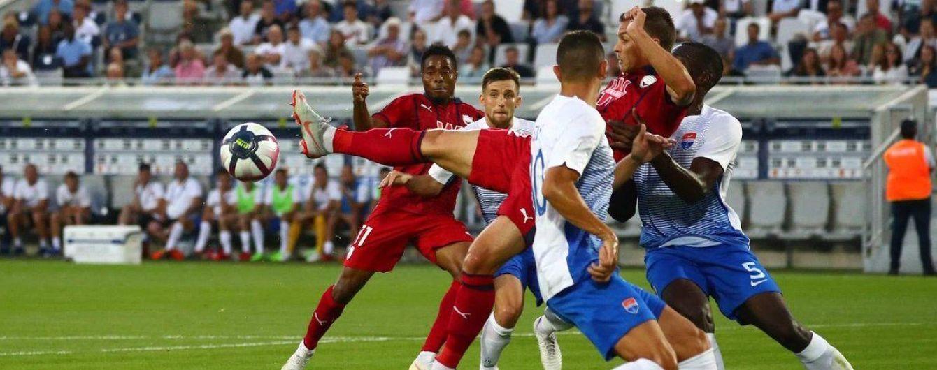 """""""Маріуполь"""" за дві хвилини двічі пропустив від """"Бордо"""" та вилетів з Ліги Європи"""