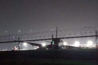 Появилось видео жесткой посадки китайского Boeing со 165 людьми в аэропорту Манилы