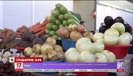 """Що українці полюбляють більше: овочі чи фрукти - опитування """"Сніданку"""""""