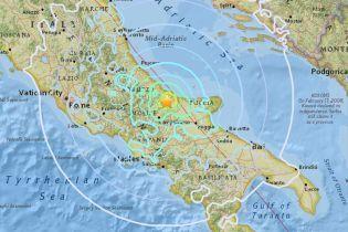 Італію сколихнув землетрус