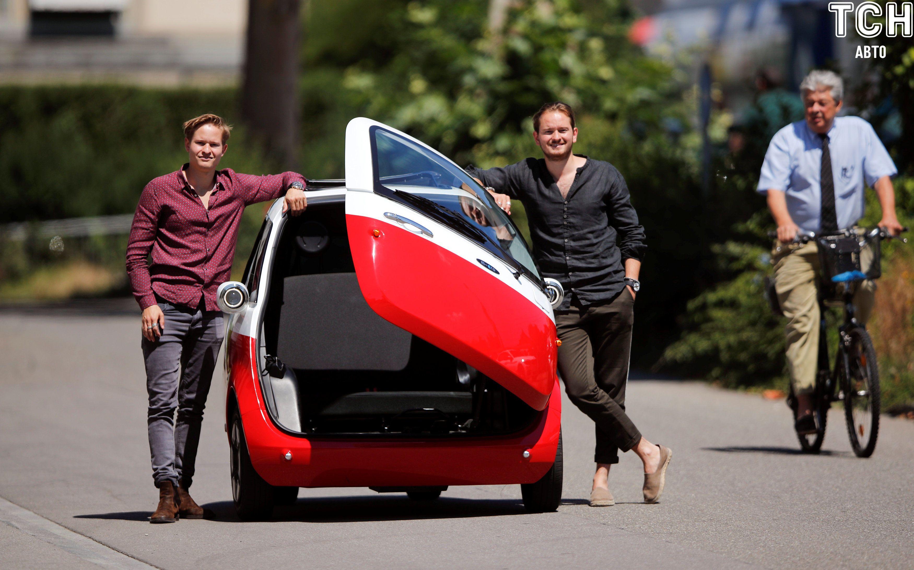 Сітікар, електромобіль Swiss Microlino AG, презенація у Швеції_3