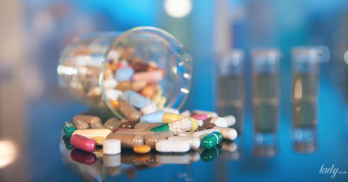 Прием пробиотиков во время или после антибиотиков